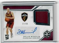 2019-20 CHRONICLES BASKETBALL DYLAN WINDLER LIMITED RC RELIC AUTOGRAPH #27/99