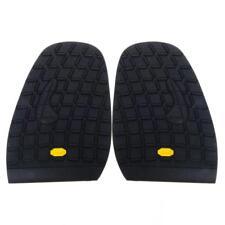 Footful Pair Rubber Half Glue on Shoe Soles Anti Slip Shoe Care DIY Repair·