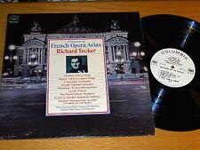 PROMO MONO CLASSICAL LP - RICHARD TUCKER - COLUMBIA ML 6231  FRENCH OPERA ARIAS