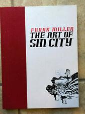 DARK HORSE - FRANK MILLER - THE ART OF SIN CITY HARDCOVER