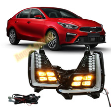 FOR Kia Forte/K3 2019 2020 LED DRL Two color Daytime Running Light Fog lamp KIT