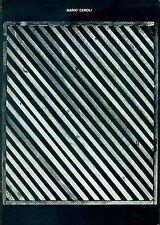 CEROLI - Mario Ceroli. Della geometria piana. Galleria de' Foscherari, 1975
