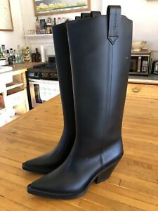 GIVENCHY Rain Boots Pointed Toe Size 9