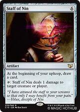 STAFF OF NIN Commander 2015 MTG Artifact Rare