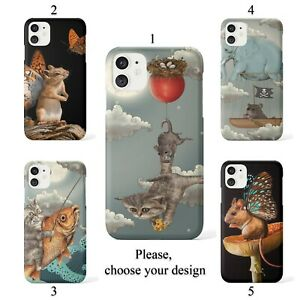 Animal fantasies case for Galaxy Note 20 10 9 8 Ultra and Google Pixel 4 3 3a XL