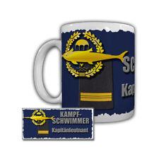 Taza Nadadores Capitán Marineoperationsschule Bundeswehr #29263