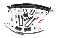 "ROUGH COUNTRY 4"" LIFT KIT DODGE RAMCHARGER TRAILDUSTER 4WD DANA 44 78-93"