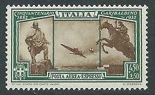 1932 REGNO ESPRESSO AEREO GARIBALDI 4,50 LIRE MNH ** - Y112-3