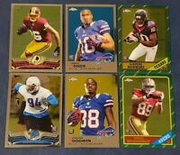 2013 Topps Chrome Rookie Card RC Base, 1986 and 1969 You Pick From List