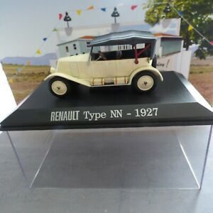 Voiture RENAULT Type NN 1927  - Universal Hobbies 1/43- collection M6