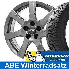 """16"""" ABE Winterradsatz ATS GREY Michelin ALPIN A5 für VW Golf 6 VI Typ 1K"""