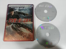 MISSION IMPOSSIBLE III - M:I:III - 2 X DVD STEELBOOK SPANISH ENGLISH TOM CRUISE