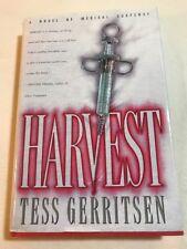 Harvest Tess Gerritsen 1996 Hardcover Dust Jacket