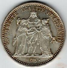 More details for france 1968 10 francs hercules group .900 silver  uk seller free postage crown