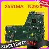 For ASUS F551M R512M D550M X551M X551MAV X551CA Motherboard w/ N2920 Mainboard