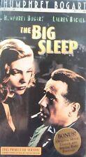 📼 The Big Sleep (Vhs 2000) Rare Humphrey Bogart Movie Collection 1945 Film Noir