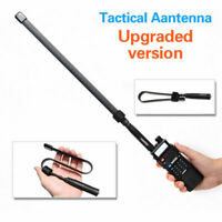 Tactical Antenna SMA-Female Dual Band VHF UHF 144/430Mhz For Baofeng UV-5R/82 hi