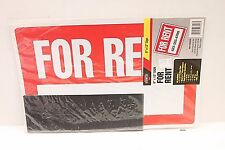 "Cosco FOR RENT Sign Kit - 8"" x 12"" - (landlord apartment, room, house for rent)"