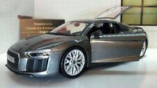 Coche de automodelismo y aeromodelismo color principal gris Audi