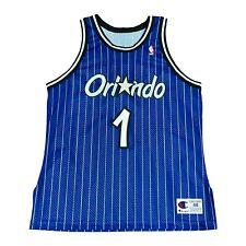 Vtg Anfernee Penny Hardaway Orlando Magic Authentic Champion Jersey Rare 48 XL
