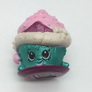 Shopkins Cupcake Princess Mini Figure Blue Season 6 Limited Edition Rare #6-058