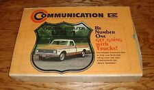 Original February 1971 Chevrolet Truck Communication Dealer Training Kit Chevy