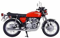 1/12 Bike Series No.15 Honda CB400 FOUR Plastic Model Kit New From Japan F/S