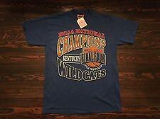1998 NCAA Basketball Champions UK T-Shirt Siz Large University Kentucky Wildcats