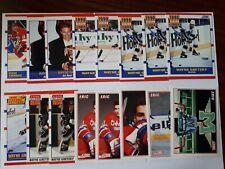 1990-91 Score Hockey Steve Yzerman Wayne Gretzky Eric Lindros Lot (16)