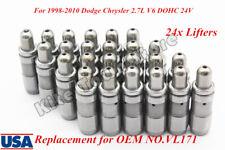 Lash Adjusters Lifters Set For 1998-2010 Dodge Chrysler 2.7L V6 DOHC 24V VL171