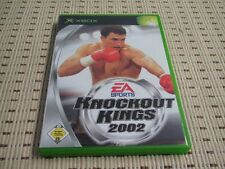 Knockout Kings 2002 02 pour xbox * OVP *