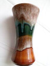 Scheurich Lava Vaso 103-15 Germania 1990 Europeo vaso di coccio tedesco Tromba