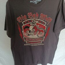 Big Bad Wolf Disney Lucky Brand Motorcycle Hollywood California