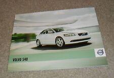 Volvo S40 Brochure 2010-2011 - D4 D3 D2 T5 2.0 ES SE LUX R Design