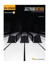 Hal Leonard Jazz Piano Method Learn to Play Beginner MUSIC BOOK & Online Audio