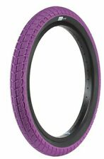 "SUNDAY BMX BIKE CURRENT TIRE PURPLE/BLACK 20 x 2.40"" PRIMO CULT ECLAT"