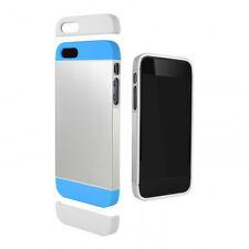 Cygnett Alternate Blue Silver Phone Case For iPhone 5/5S iP5/5S
