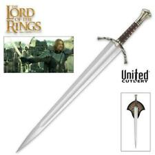 Lord of the Rings Sword of Boromir with Plaque United Cutlery Coa Collectible