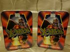 1996 X-MEN Marvel Comics Embossed Metal Collector CARDS Metal Tin Sealed NEW