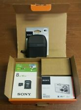 NEW Sony Cybershot DSC-W830 20.1MP Digital SLR Camera Bundle - Silver
