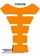CBR ZXR GSXR YZF Plain Basic Metallic Orange Motorcycle Tank Pad Gel Protector