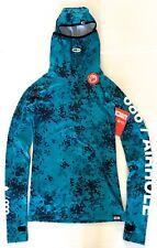 $80 NWT 686 Women XS  Thermal Base Layer Ski Face Mask Hoodie Shirt Bala Top