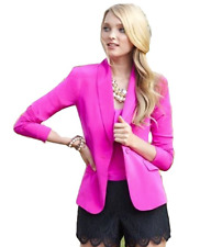 New Lilly Pulitzer Campbell Silk Blazer Mambo Pink  Sz 0 $298