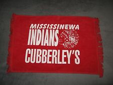 Mississinewa Indians High School Gas City Indiana Football Sport Rally Rag Towel