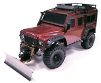 Aluminum rc snow plow for Traxxas TRX-4/TRX-6 Scale & Trail Crawler Chassis