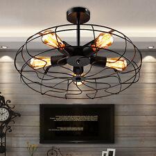Ceiling Fan Pandent Vintage Industrial Edison Lamp Bar Restaurant Light Bulb HOT