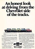 1971 Chevrolet Monte Carlo Nova SS Camaro Advertisement Print Art Car Ad J582