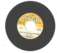 BOBBY DARIN--7'-45--(WON'T YOU COME HOME BILL BAILEY)--EX