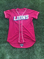Rare Vintage AIS Loyola Marymount Lions (LMU) College Baseball Game Jersey Mens