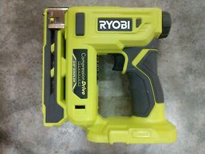 NEW Ryobi 18V ONE+ 3/8 inch Cordless Compression Drive Crown Stapler Model# P317